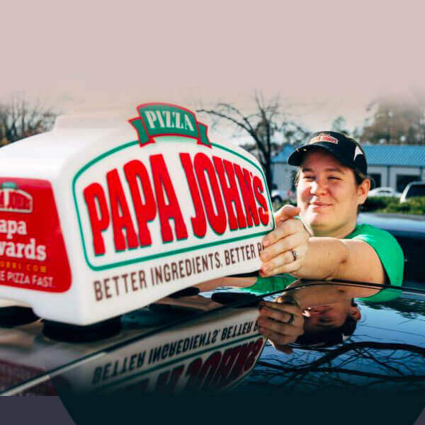 Papa John's Delivery Driver pay rates