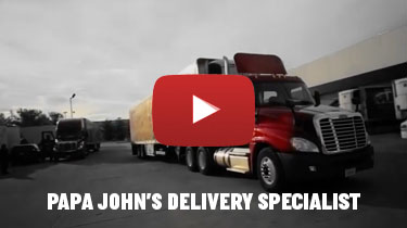 Watch our video to learn about Transportation and CDL Driver jobs at Papa John's
